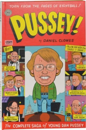 Pussey! - Cover of the hardcover collection