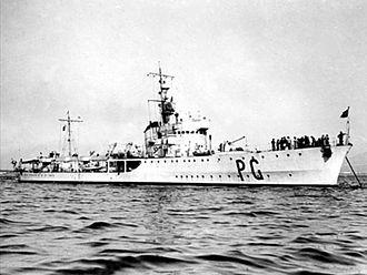 HMS Upholder (P37) - Italian torpedo boat Pegaso, which may have sunk HMS Upholder off Tripoli
