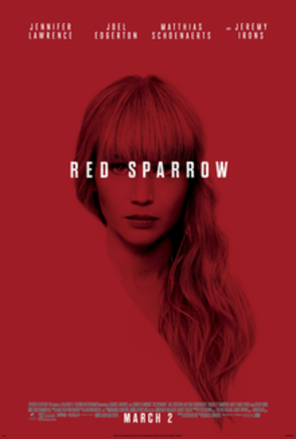 Red Sparrow - Theatrical release poster