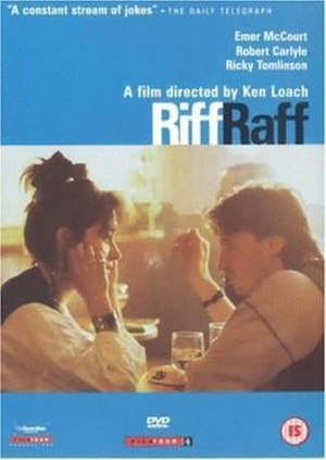 Riff-Raff (1991 film) - Image: Riff Raff Film Poster
