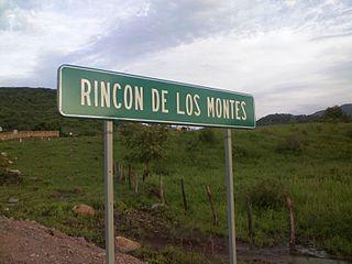 Rincón De Los Montes human settlement in Mexico