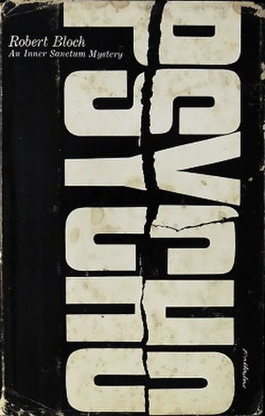 Psycho (novel) - First edition cover