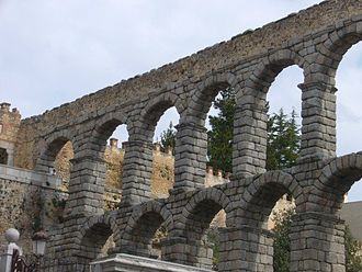 Hispania Ulterior - Roman aqueduct in Hispania at Segovia