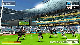 Rugby League Challenge - Image: Rugby League Challenge Screen 2