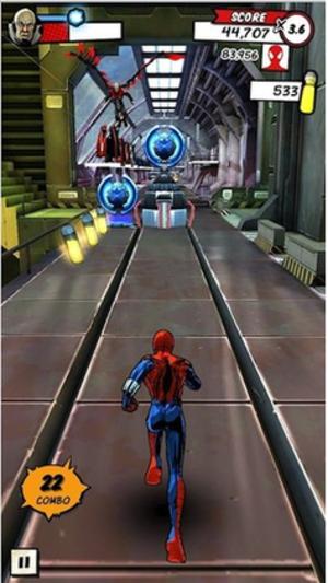 Spider-Man Unlimited (video game) - Image: SMU screenshot
