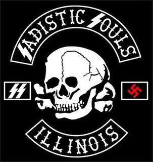Sadistic Souls Motorcycle Club White supremacist outlaw motorcycle club