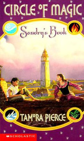 Sandry's Book - Cover featuring Sandry and Briar.