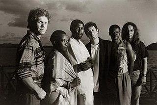 Savuka Multi-racial South African band blending Zulu, Celtic, and rock music