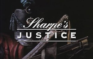 Sharpe's Justice - Title screen from Sharpe's Justice