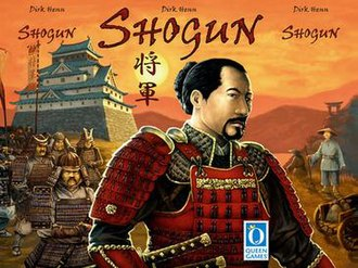Shogun (2006 board game) - Image: Shogun 2006 board game cover