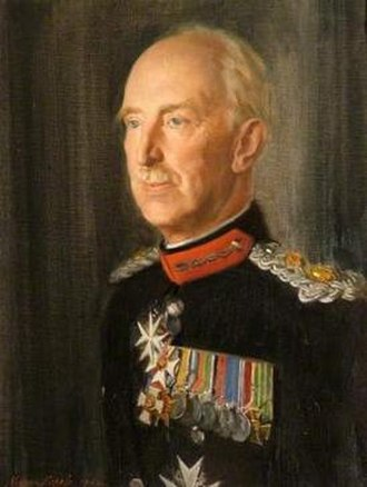 Sir Henry Aubrey-Fletcher, 6th Baronet - Sir Henry painted by Norman Hepple in 1962.