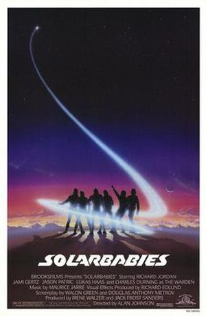 Solarbabies - Theatrical poster by John Alvin