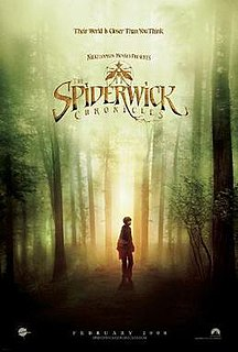 <i>The Spiderwick Chronicles</i> (film) 2008 American fantasy adventure film directed by Mark Waters