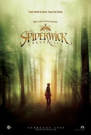 Film poster for The Spiderwick Chronicles - Co...