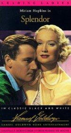 Splendor (1935 film) - VHS cover