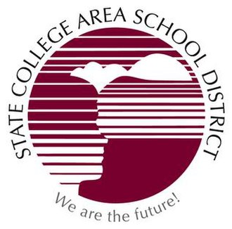 State College Area High School - Image: State College Area High School (emblem)