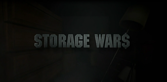 Storage Wars - Title card used for the first two seasons.