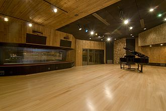 Fantasy Studios - Present-day main tracking room of Studio D after the new flooring was installed