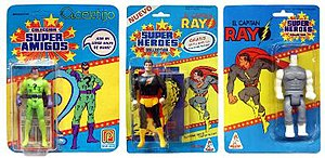 Super Powers Collection - Foreign, Non-Kenner Characters
