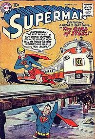 Superman #123: Super-Girl.Art by Curt Swan.