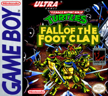 ninja turtles fall of the foot clan