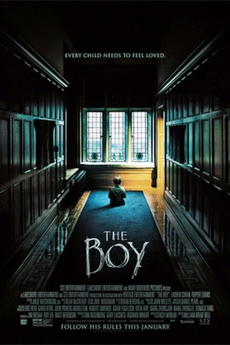 The Boy (2016 film) - Theatrical release poster