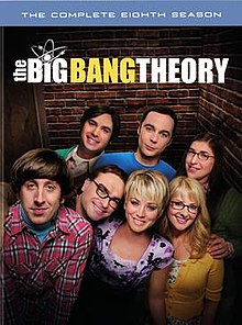 View The Big Bang Theory - Season 8 (2014) TV Series poster on Ganool123
