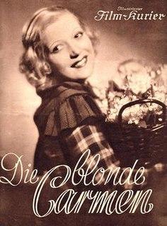 <i>The Blonde Carmen</i> 1935 film