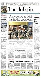<i>The Bulletin</i> (Bend) newspaper published in Bend