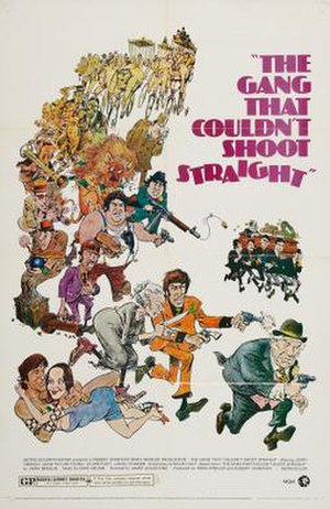 The Gang That Couldn't Shoot Straight (film) - Theatrical release poster