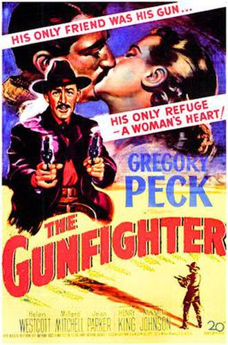 The Gunfighter - Theatrical release poster