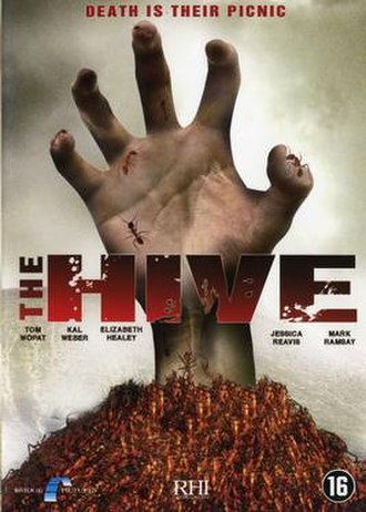 The Hive (2008 film) - DVD cover