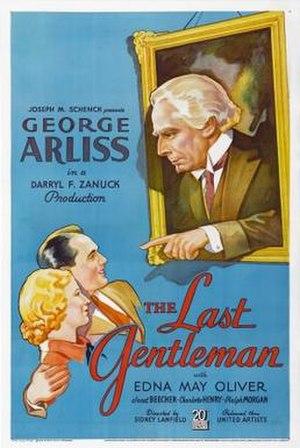 The Last Gentleman (film) - Theatrical release poster