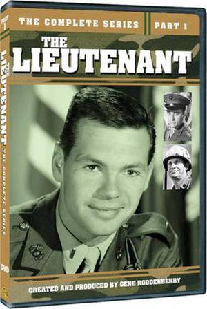 The Lieutenant - Cover of Part 1 of the Complete Series DVD