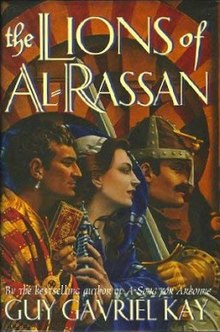 The Lions of Al-Rassan bookcover.jpg