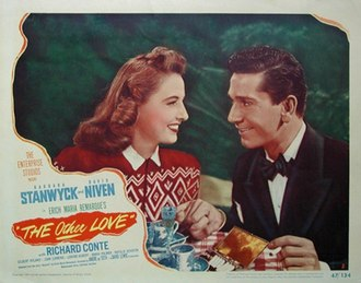 The Other Love - Theatrical release poster