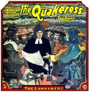 The Quakeress - Theatrical poster