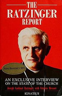 <i>The Ratzinger Report</i> book by Paus Benedictus XVI