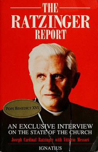 The Ratzinger Report - Book cover
