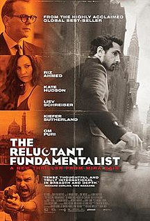 <i>The Reluctant Fundamentalist</i> (film) 2012 political thriller drama film directed by Mira Nair