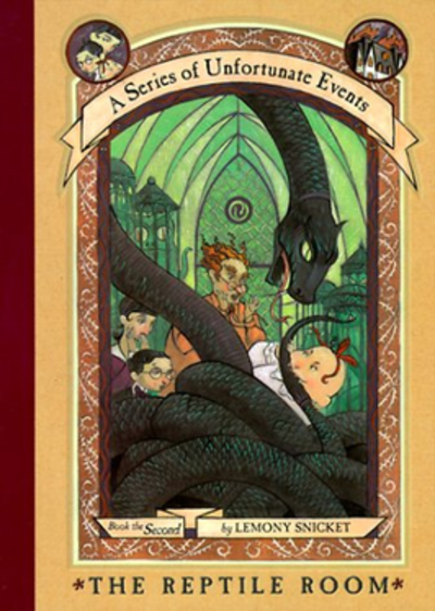 Picture of a book: The Reptile Room