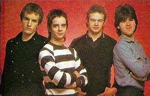 The Vapors - The Vapors, 1980.  Left to right: Edward Bazalgette, David Fenton, Steve Smith, Howard Smith