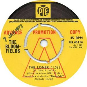 The Loner (Maurice Gibb song) - Image: Thebloomfieldsthelon er