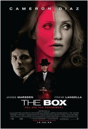 The Box (2009 film) - Theatrical release poster