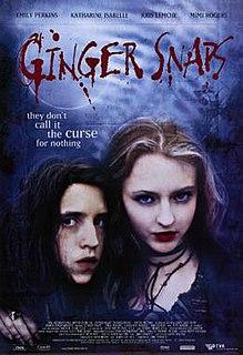 <i>Ginger Snaps</i> (film) 2000 Canadian comic horror film directed by John Fawcett