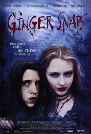 Ginger Snaps (film) - Theatrical release poster