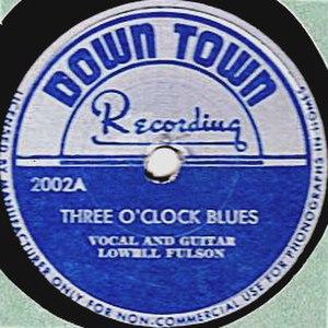 3 O'Clock Blues - Image: Three O'Clock Blues single cover