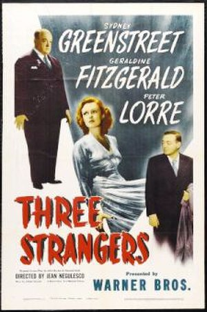 Three Strangers - theatrical release poster