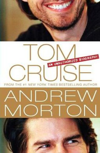 Tom Cruise: An Unauthorized Biography - Book cover, hardcover ed.
