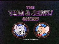 The title card for Hanna-Barbera's 1975 Tom and Jerry Show